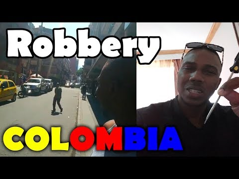 Robbery fail in Medellin Colombia