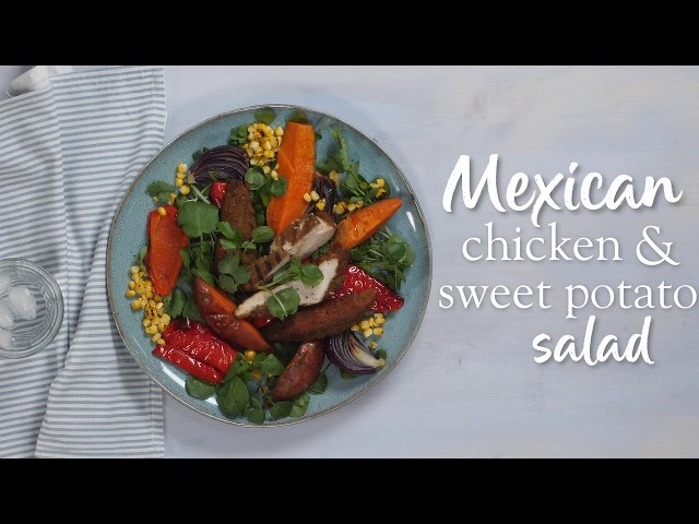Slimming World Syn Fee Mexican chicken & sweet potato salad recipe - FREE