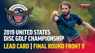 2019 USDGC - Lead Card Final Round, Front 9 (Conrad,  McMahon, Queen, Tamm)