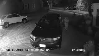 Agawam Police asking for help to ID man involved in car theft, break-ins