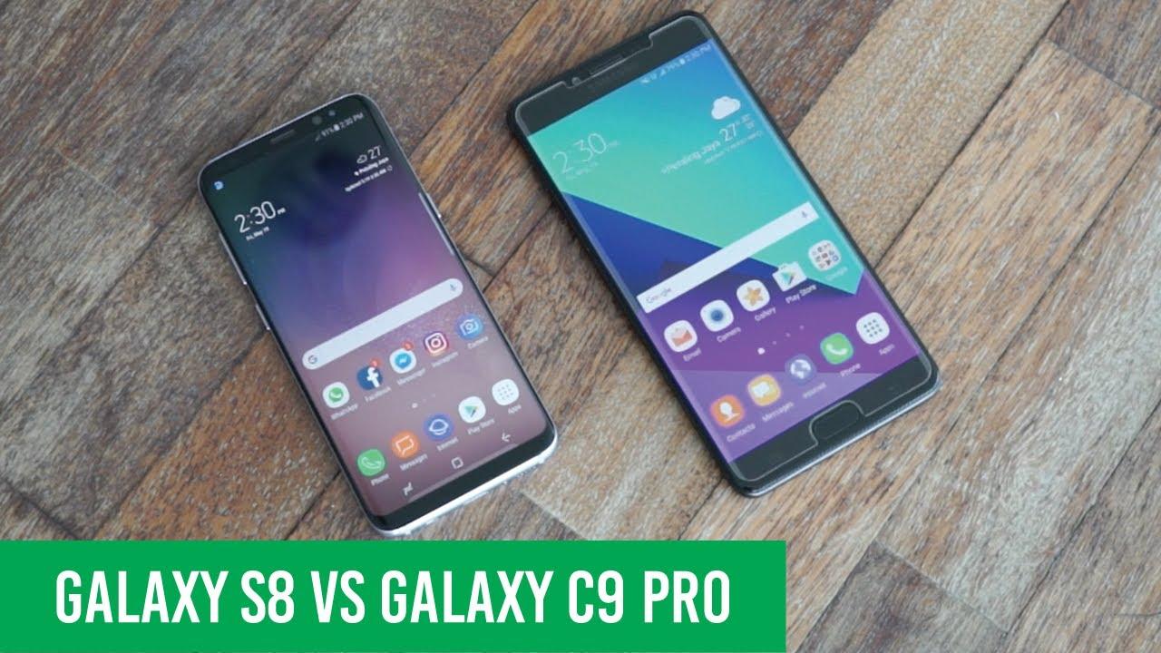 Samsung Galaxy S8 Vs C9 Pro