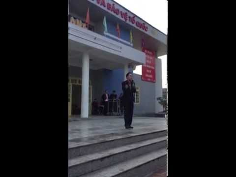 Thầy Đào Văn Quang CHUYÊN HƯNG YÊN hát cực hay