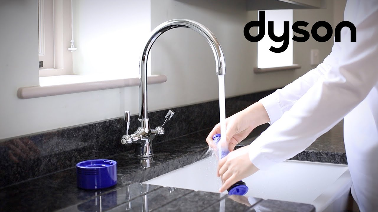 Dyson V8 Cord Free Vacuums Washing The Filters Ca