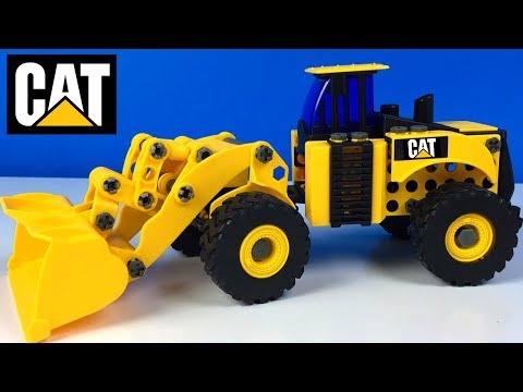 CAT MACHINE MAKER APPRENTICE WHEEL LOADER BUILD MIGHTY MACHINES WITH SMART LOC TECHNOLOGY - UNBOXING