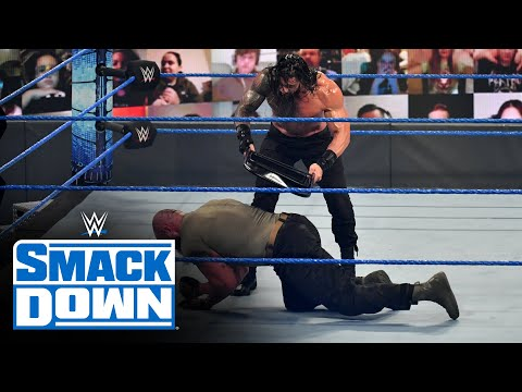 Roman Reigns vs. Braun Strowman – Universal Championship Match: SmackDown, Oct. 16, 2020