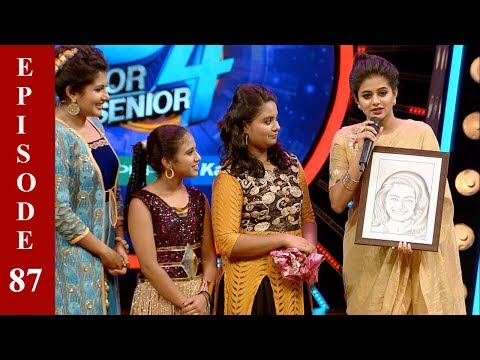 D4 Junior Vs Senior I EP 87   Who all will be in the 'Top 8'?  II Mazhavil Manorama