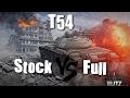 World of tanks blitz fr - T54 Stock vs Full