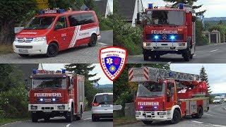🚒 ELW / VRW + TLF 16/24 + HLF 10 + DLK 18/12 Feuerwehr Hohenleuben