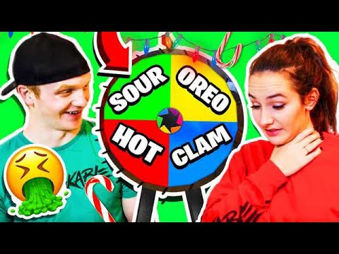 MYSTERY CANDY CANE CHALLENGE! (SOUR, OREO, SPICY)