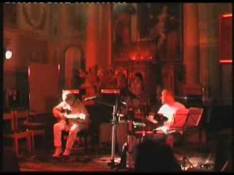 UNBELIEVABLE JOHN PHIL WAYNE GUITAR SOLO IN DUET WITH DRUMMER ADRIAN WHITE (10 August 2008)