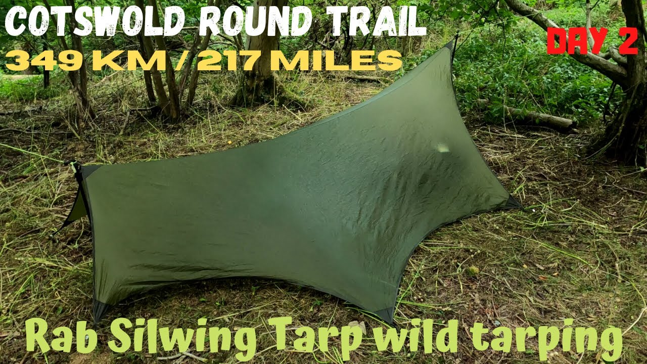 2 Cotswold Round long distance hiking trail. Dehydration Tarp Wild camping Chipping Campden Broadway