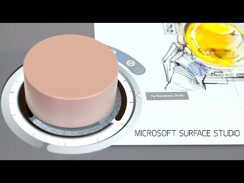 Microsoft Surface Studio Hands-On!