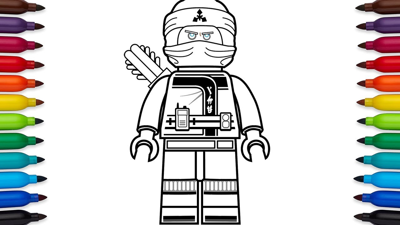 Coloring Pages For Boys Lego Ninjago
