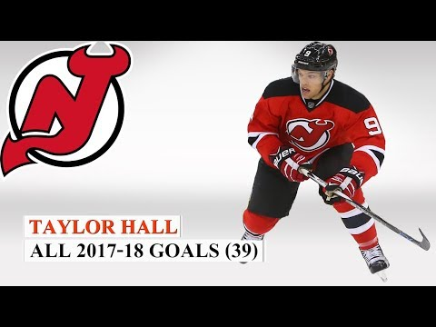 Taylor Hall (#9) All 39 Goals of the 2017-18 NHL Season