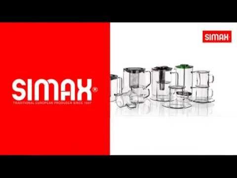 SIMAX - jug, mug, glass, double wall