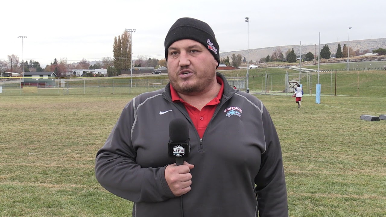 Eastmont Coach Michael Don on Camas Papermakers 2019-11-15