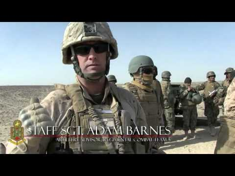 Operation Steel Rain - Live Fire Howitzer Artillery at Camp Dwyer, Afghanistan