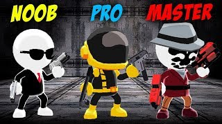 NOOB VS PRO VS MASTER!! JOHNNY TRIGGER