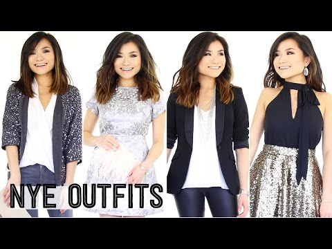 c0028a05f302a New Year's Eve Outfit Ideas Lookbook | Party Going Out OOTN | Miss Louie -  YouTube