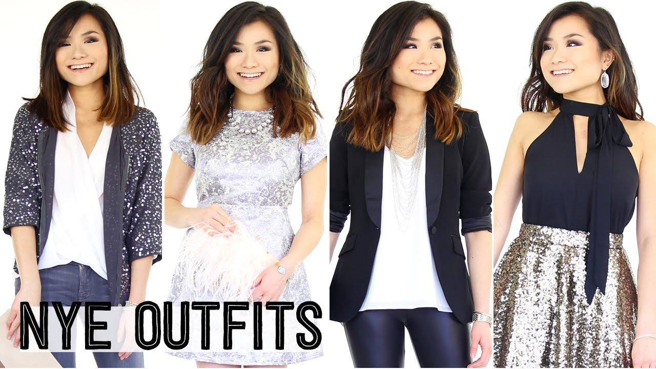 233f39398c3b New Year's Eve Outfit Ideas Lookbook | Party Going Out OOTN | Miss Louie -  YouTube