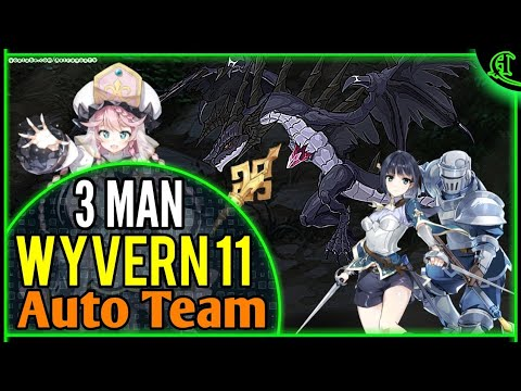 Epic Seven W11 TEAM 3 MAN Wyvern 11 Epic 7 Auto Gameplay Epic7 F2P E7 [Alexa Taranor Guard Angelica]