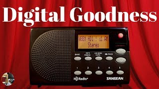 Sangean HDR-14 AM FM HD Portable Radio Unboxing & Review