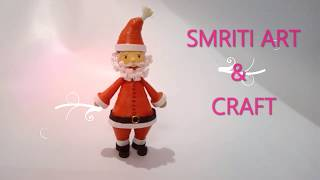how to make 3D Quilling Santa | Happy Merry Christmas Special Tutorial