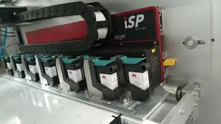 잉크젯, 스틱 포장기, 다열, HP 프린터,고속인쇄,유…