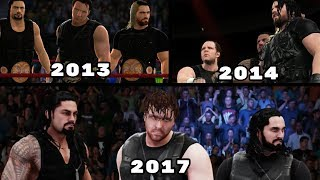 The Evolution Of The Shield In WWE Games