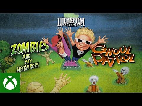 Переиздание классики: Zombies Ate My Neighbours и Ghoul Patrol теперь доступны на Xbox