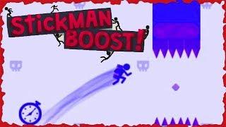 Stickman Boost Full Game Walkthrough All Levels