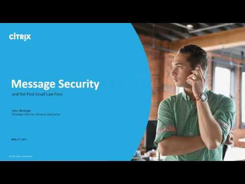 Message Security and the Post Email Law Firm