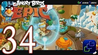 ANGRY BIRDS Epic Android Walkthrough - Part 34 - Magic Shield