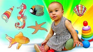 Игрушка рыбалка. Видео для малышей про развивающие игрушки Марты