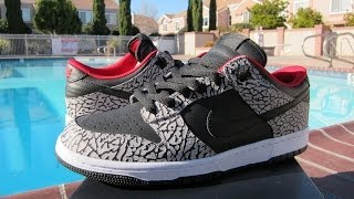 Nike ID Supreme Dunk Low Review + On