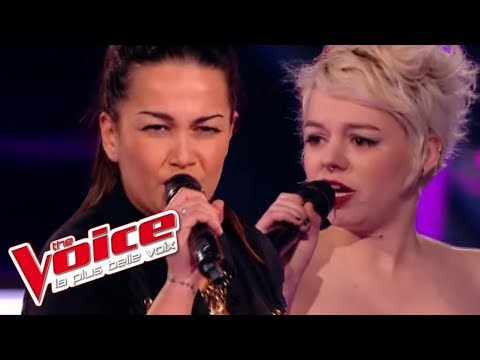 The Voice 2015│Sweet jane VS Julie Gonzalez - Call me (Blondie)│Battle
