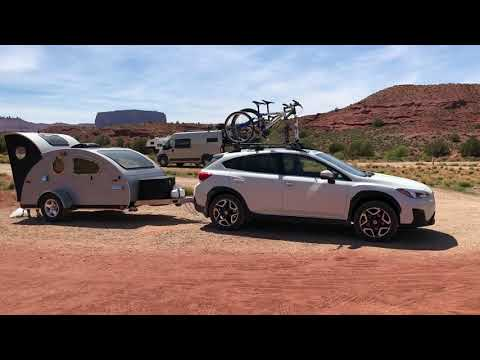New Features Of The 2018 Vistabule Teardrop Trailer.  Also Trip To Moab In The Teardrop Trailer