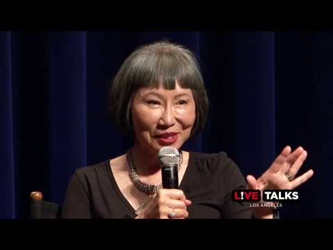 Amy Tan With Charmaine Craig At Live Talks Los Angeles