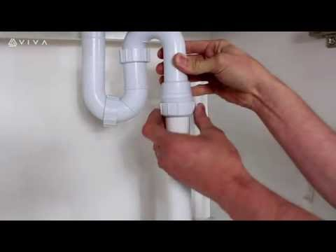 How to Install or Replace a Swivel S Trap Waste Fitting for a Bathroom Basin or Kitchen Sink
