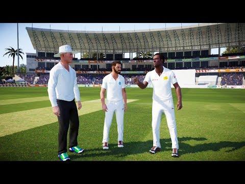 India vs Sri Lanka 1st Test Match - Don Bradman Cricket 17