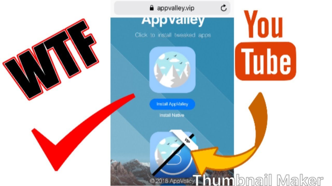 4 85 MB) How to get App Valley on IOS 12 without PC, Download Video