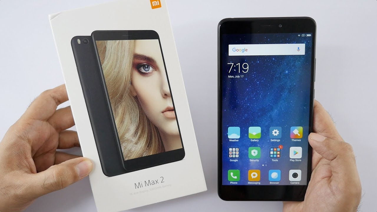 mi max 2 smartphone with screen unboxing overview. Black Bedroom Furniture Sets. Home Design Ideas