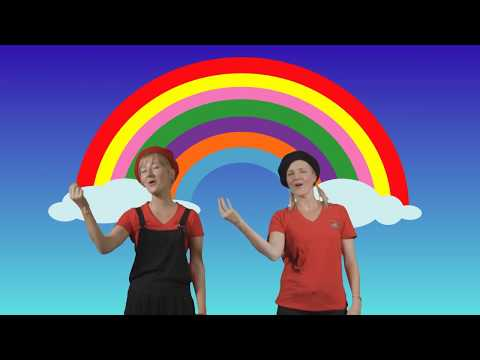 Sing a Rainbow - with all your Auslan signs