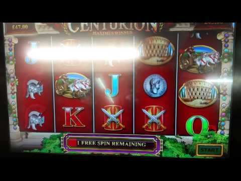 centurion slot machine online