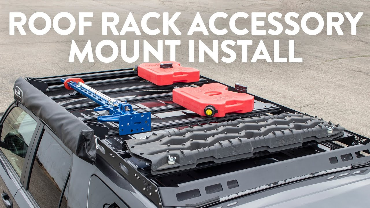 Victory Roof Rack Accessory Mount Install Youtube