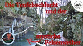 Teufelsschlucht und mystischer Felsenweiher  Irrel / Ernzen kleine Luxemburger Schweiz / Wanderung