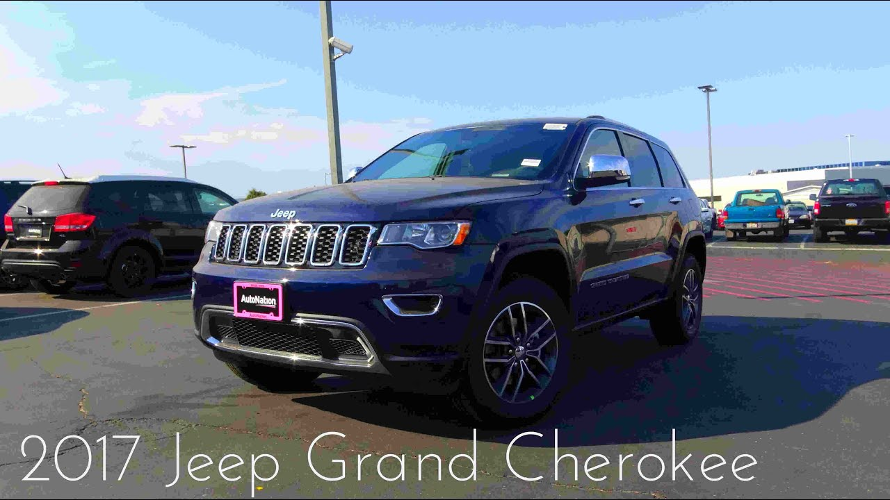 2017 Jeep Grand Cherokee Limited 3 6 L V6 Review