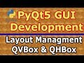 PyQt5 QHBox Layout And QVBox Layout  #5