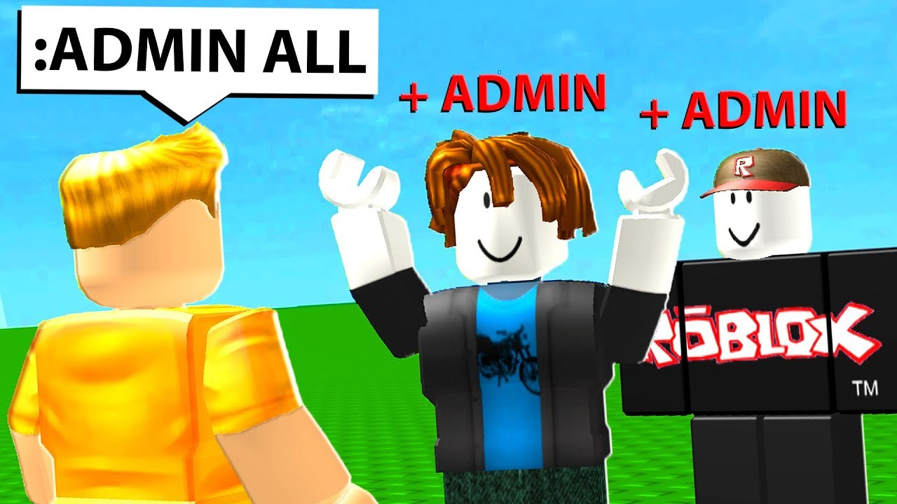 How To Get Free Roblox Admin Youtube