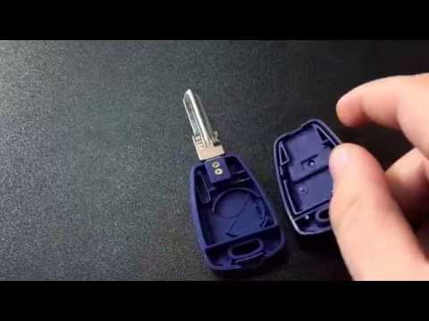 Hqdefault on Fiat Key Fob How To Change The Battery In A